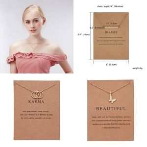 Jewelry - Dainty Fashion Pendant Charm Necklaces